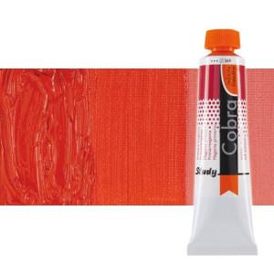 Óleo al agua Cobra Study color rojo pyrrole claro (40 ml)