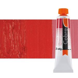 Óleo al agua Cobra Study color rojo pyrrole (40 ml)