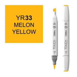 Rotulador alcohol TOUCH TWIN Melon Yelow n. YR33 totenart.