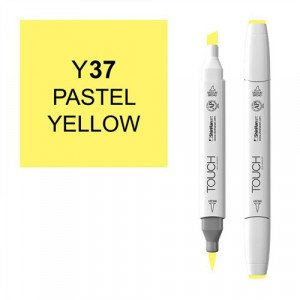 Rotulador alcohol TOUCH TWIN Pastel Yelow n. Y37 totenart.
