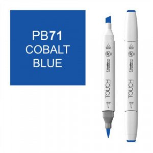 Rotulador alcohol TOUCH TWIN Cobalt Blue n. PB71 totenart.