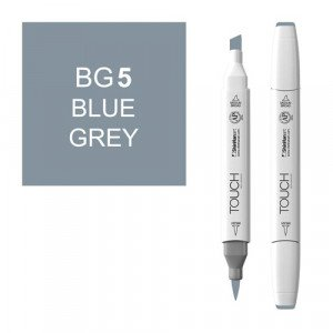 Rotulador alcohol TOUCH TWIN Blue Grey BG5 totenart.