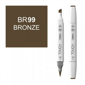 Rotulador alcohol TOUCH TWIN Bronze n. BR99 totenart.