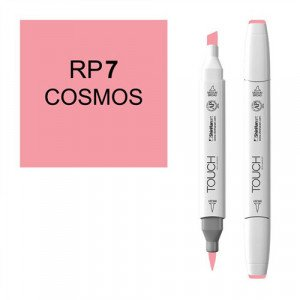 Rotulador alcohol TOUCH TWIN Cosmos, n. RP7 totenart.