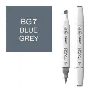 Rotulador alcohol TOUCH TWIN Blue Grey BG7 totenart.