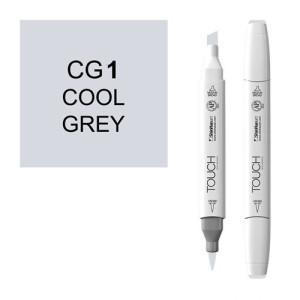 Rotulador alcohol TOUCH TWIN Cool Grey CG1 totenart.