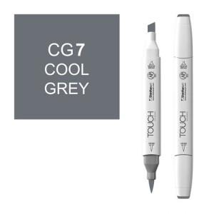 Rotulador alcohol TOUCH TWIN Cool Grey CG7 totenart.
