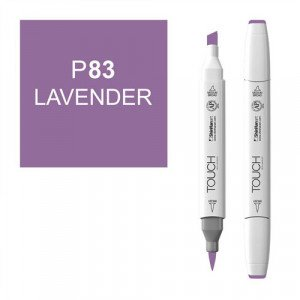 Rotulador alcohol TOUCH TWIN Lavender n. P83 totenart.
