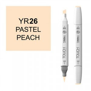 Rotulador alcohol TOUCH TWIN Pastel Peach n. YR26 totenart.