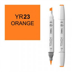 Rotulador alcohol TOUCH TWIN Orange, n. YR23 totenart.