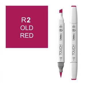 Rotulador alcohol TOUCH TWIN Old Red, n. R2 totenart