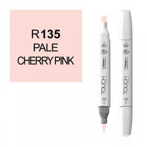 Rotulador alcohol TOUCH TWIN  Pale Cherry Pink n. R135 totenart.