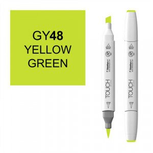 Rotulador alcohol TOUCH TWIN Yellow Green n. GY48 totenart.