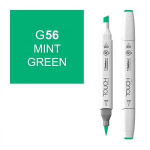 Rotulador alcohol TOUCH TWIN Mint Green n. G56 totenart.