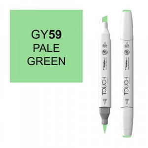 Rotulador alcohol TOUCH TWIN Pale Green n. GY59 totenart.