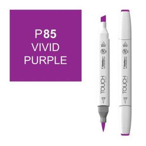 Rotulador alcohol TOUCH TWIN Vivid Purple n. P85 totenart.