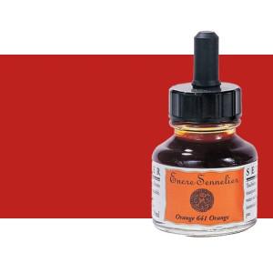Tinta dibujo Sanguina 270, 30 ml. con cuentagotas Sennelier