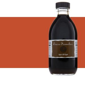 Tinta dibujo Siena tostada 211, 250 ml. Sennelier