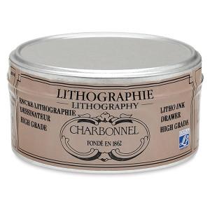 Tinta litografica para dibujar, Charbonnel Highgrade, 125g