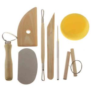 Totenart-Kit alfarero 8 piezas