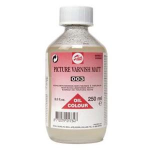 totenart-Barniz mate para oleo Talens, 250 ml