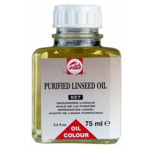 totenart-Aceite de linaza purificado Talens, 75 ml.