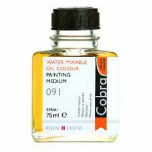totenart-Medium Cobra para pintar al oleo Talens, 75 ml.