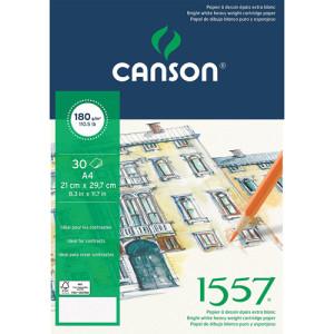 1557 Croquis Canson (Block), 30h., 180 gr., 21x29.7 cm.