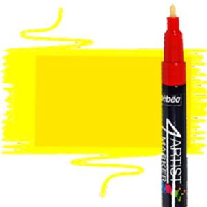 totenart-Rotulador Pebeo al Óleo 4Artist 2 mm amarillo