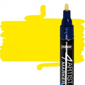 totenart-Rotulador 4Artist Pebeo al Óleo 4 mm amarillo