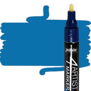 totenart-Rotulador 4Artist Pebeo al Óleo 4 mm azul
