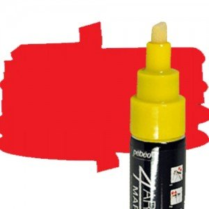 totenart-Rotulador 4Artist Pebeo al Óleo 8 mm rojo