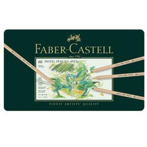 totenart-60 Lapices Pastel PITT para Artistas Faber-Castell