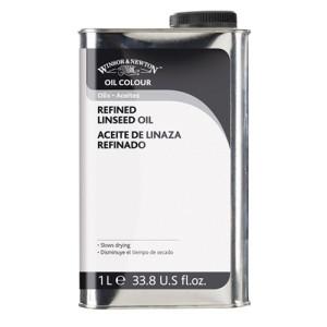 Totenart-Aceite de linaza refinado Winsor & Newton (1L)