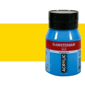 Acrílico Amsterdam color amarillo azo claro (500 ml)