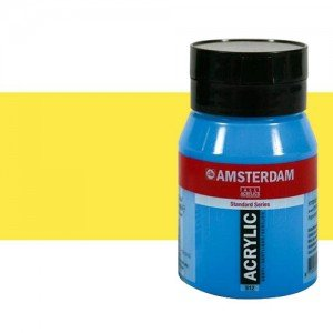 Acrílico Amsterdam color amarillo limón azo (500 ml)