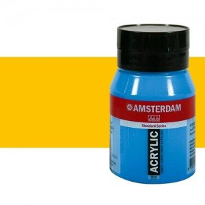 Acrílico Amsterdam color amarillo azo medio (500 ml)