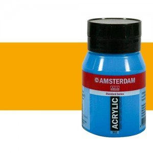 Acrílico Amsterdam color amarillo azo oscuro (500 ml)