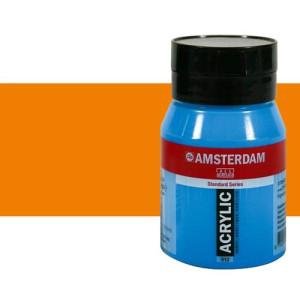 Acrílico Amsterdam n. 276 color anaranjado azo (500 ml)