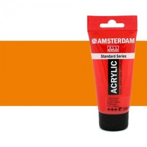 Acrílico Amsterdam color anaranjado azo (250 ml)