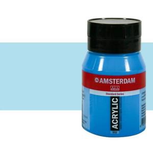 Acrílico Amsterdam color azul celeste claro (500 ml)