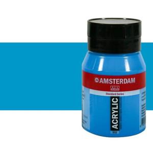 Acrílico Amsterdam n. 572 color cyan primario (500 ml)