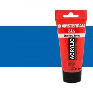Acrílico Amsterdam color azul ftalocianina (250 ml)