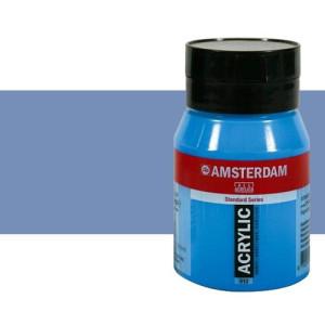 Acrílico Amsterdam color azul grisáceo (500 ml)