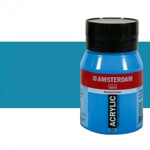 Acrílico Amsterdam n. 517 color azul real (500 ml)