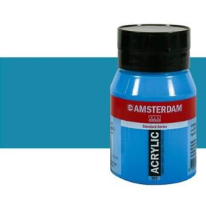 Acrílico Amsterdam color azul real (500 ml)