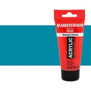 Acrílico Amsterdam n. 522 color azul turquesa (250 ml)