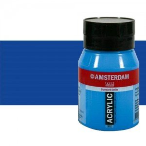 Acrílico Amsterdam color azul ultramar (500 ml)