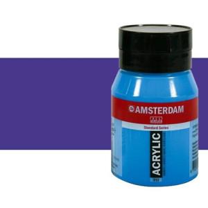 Acrílico Amsterdam color azul ultramar violeta (500 ml)