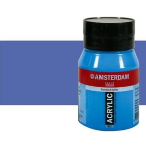Acrílico Amsterdam color azul ultramar violeta claro (500 ml)
